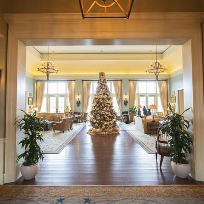 Christmas Tree at Salamander Resort - Middleburg, VA