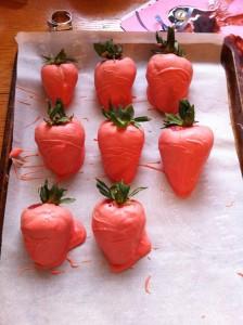 carrots...aka Pink Blobs
