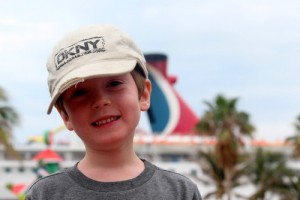 Kids on Carnival cruises