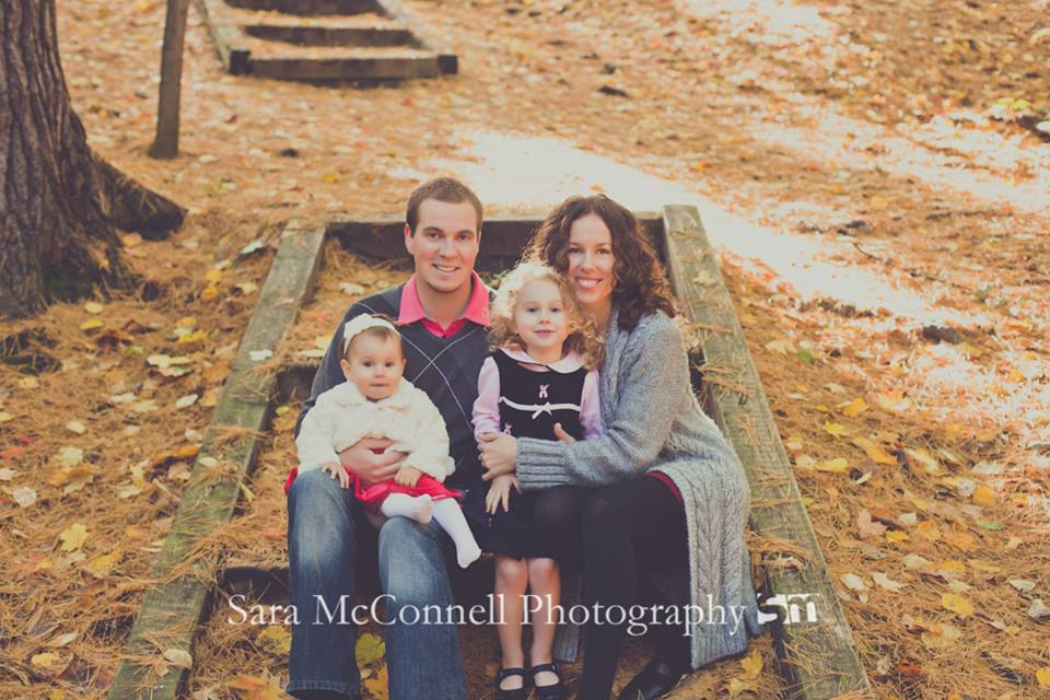 Our family photos with Sara McConnell Photography - located along one of the trails