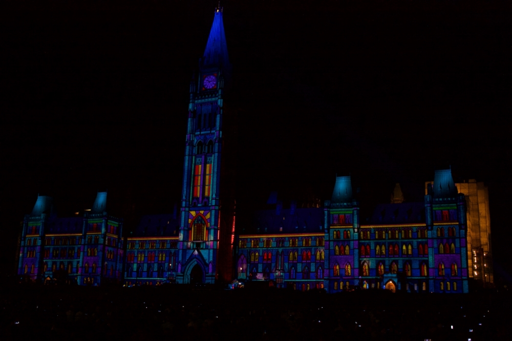 Stained glass Parliament