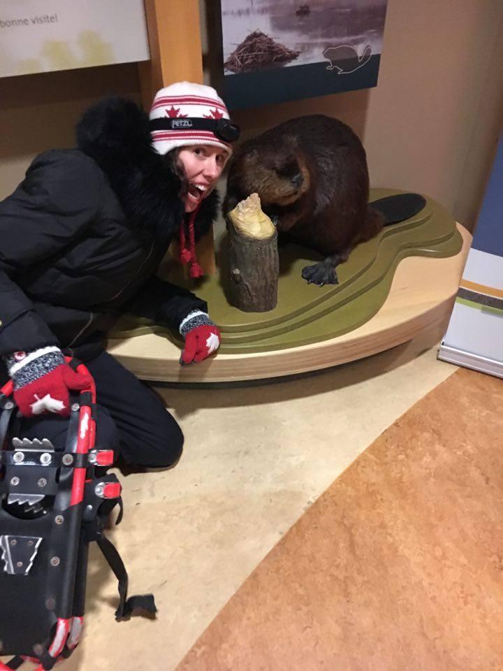 My friend the beaver