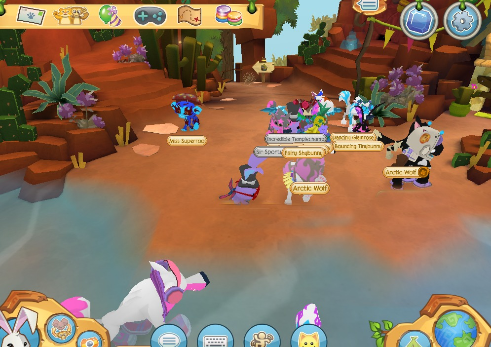 Animal Jam Online Game
