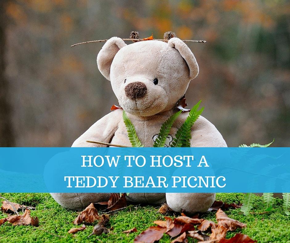host a teddy bear picnic
