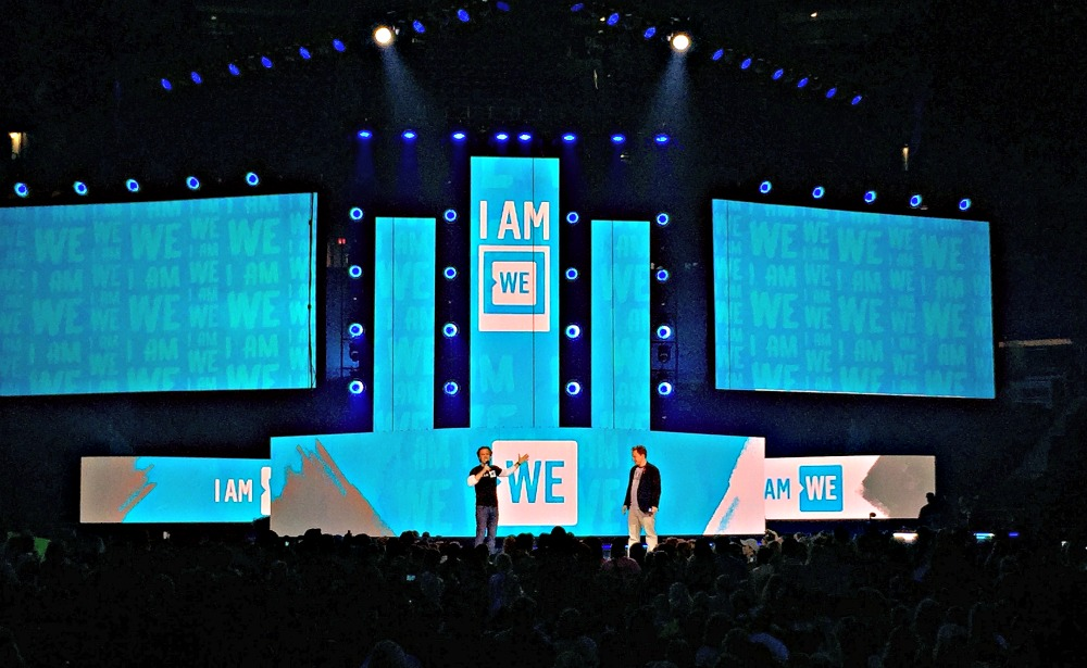 Craig and Marc Keilburger, co-Founders of WE