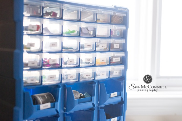 Toy storage for small toys