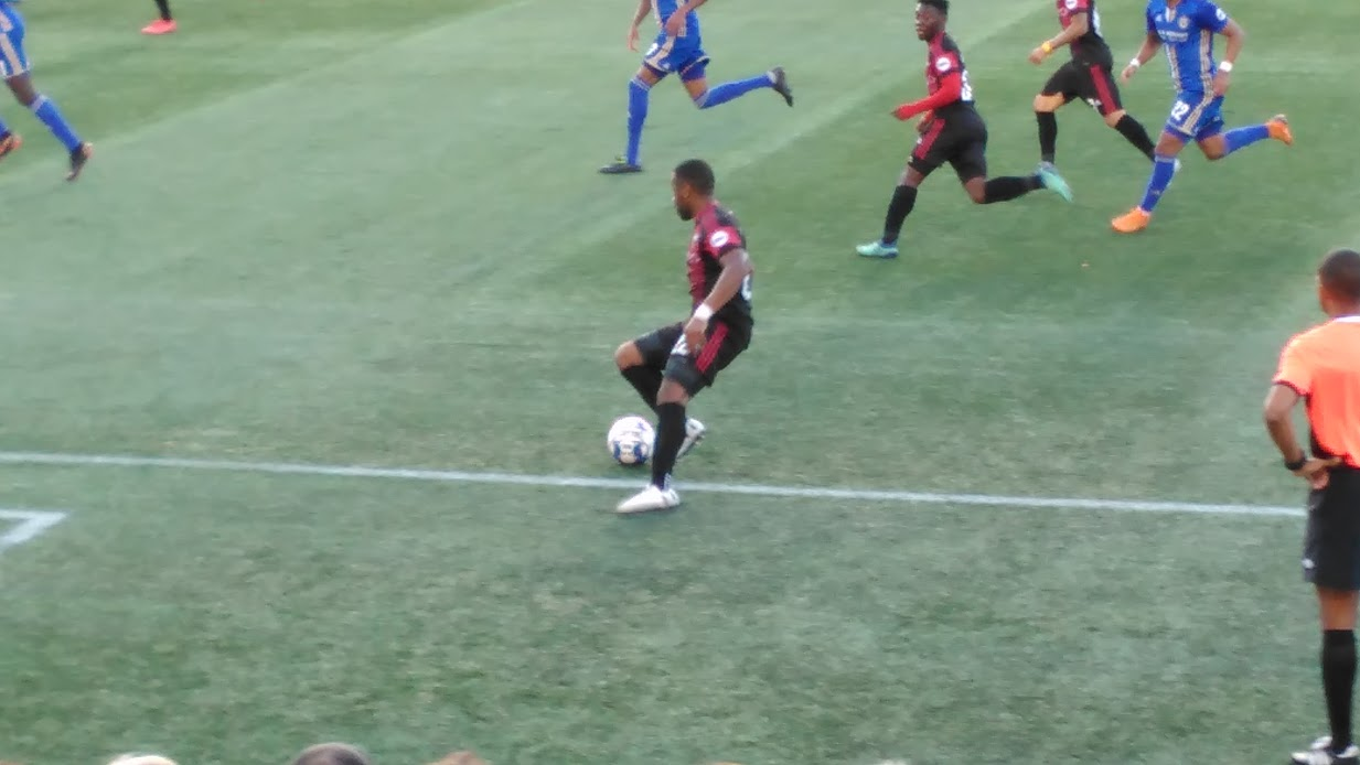 Ottawa Fury Soccer Game