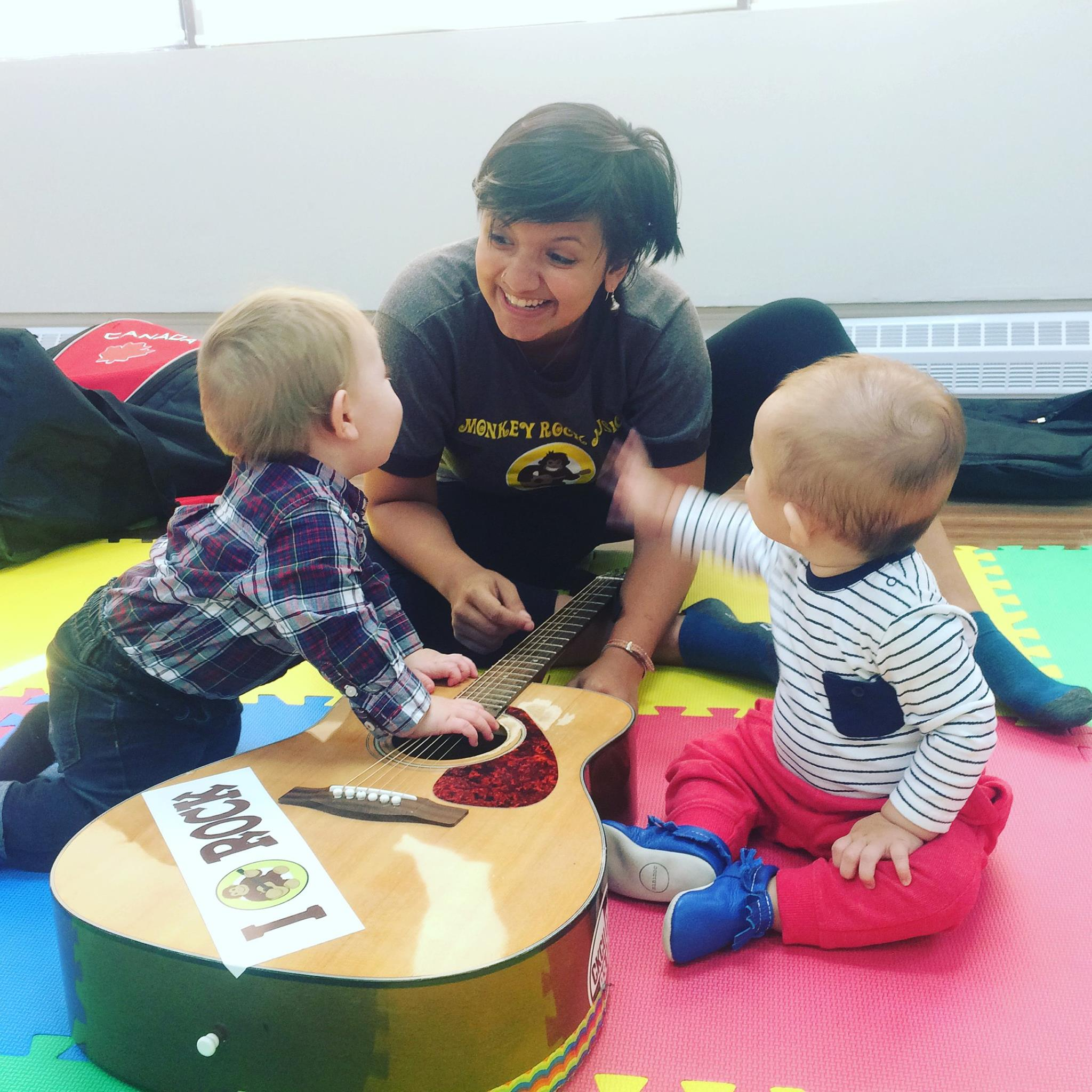 Monkey Rock Music Kids Music Program