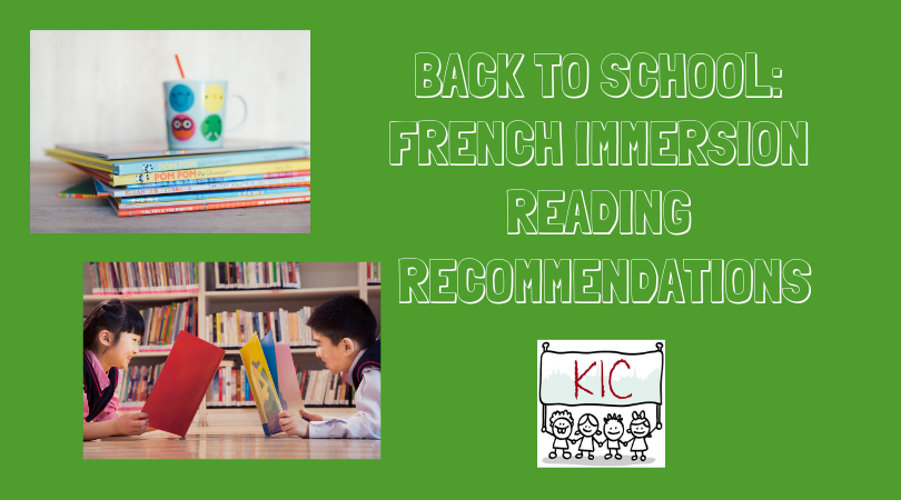 Back to School: French immersion reading recommendations