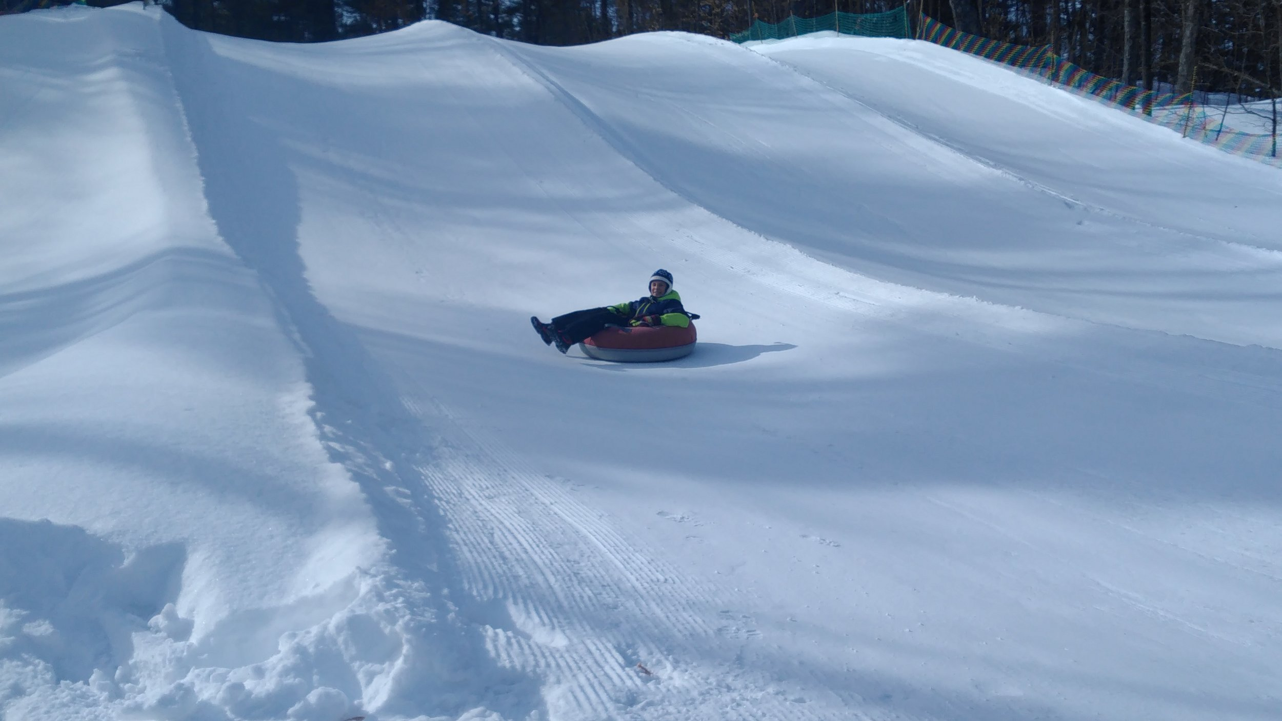 Tubing at Mount Pakenham