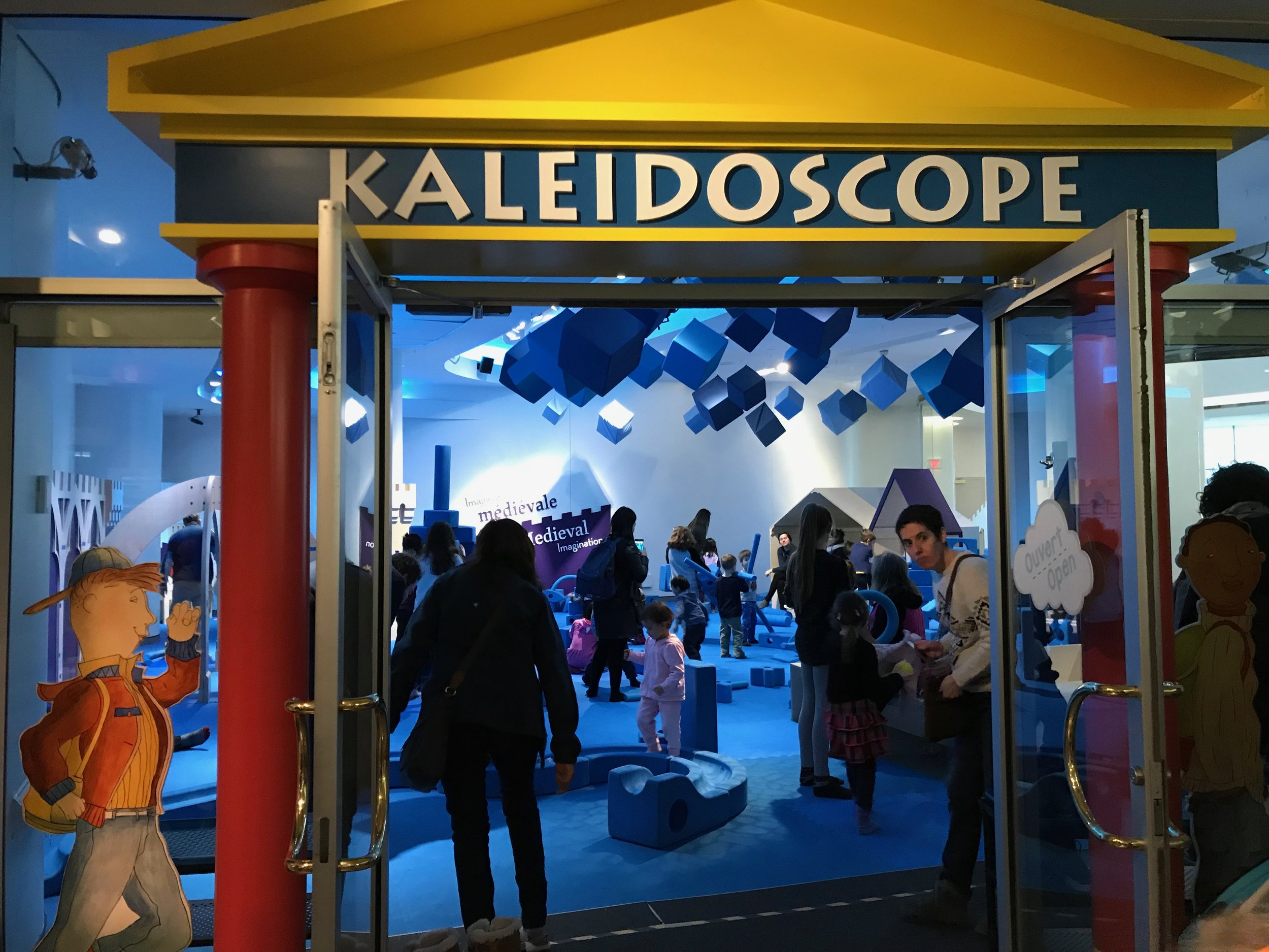 Kaleridoscope at the Canadian Children's Museum