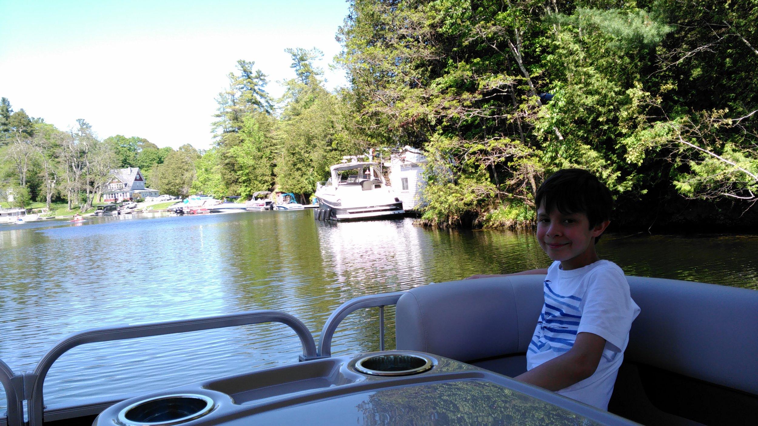 Caffey's Lock Boat Tour