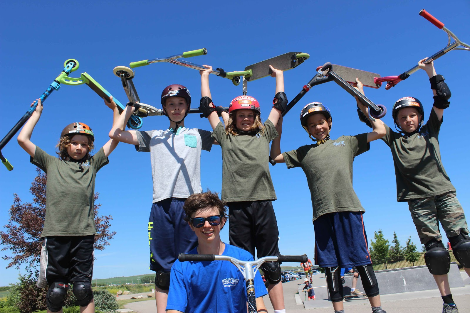 Skateboarding & Scooter Camps with Evolve Camps  In Ottawa