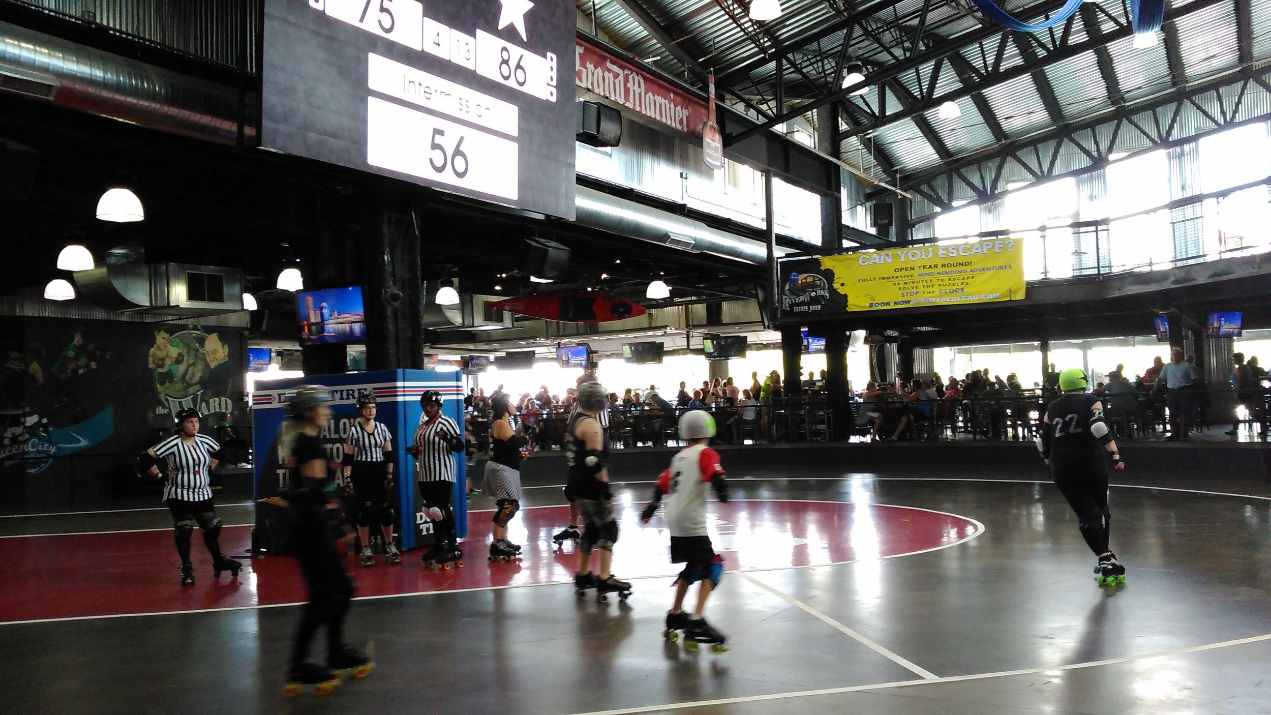 Family Travel: Buffalo Riverside Roller Derby