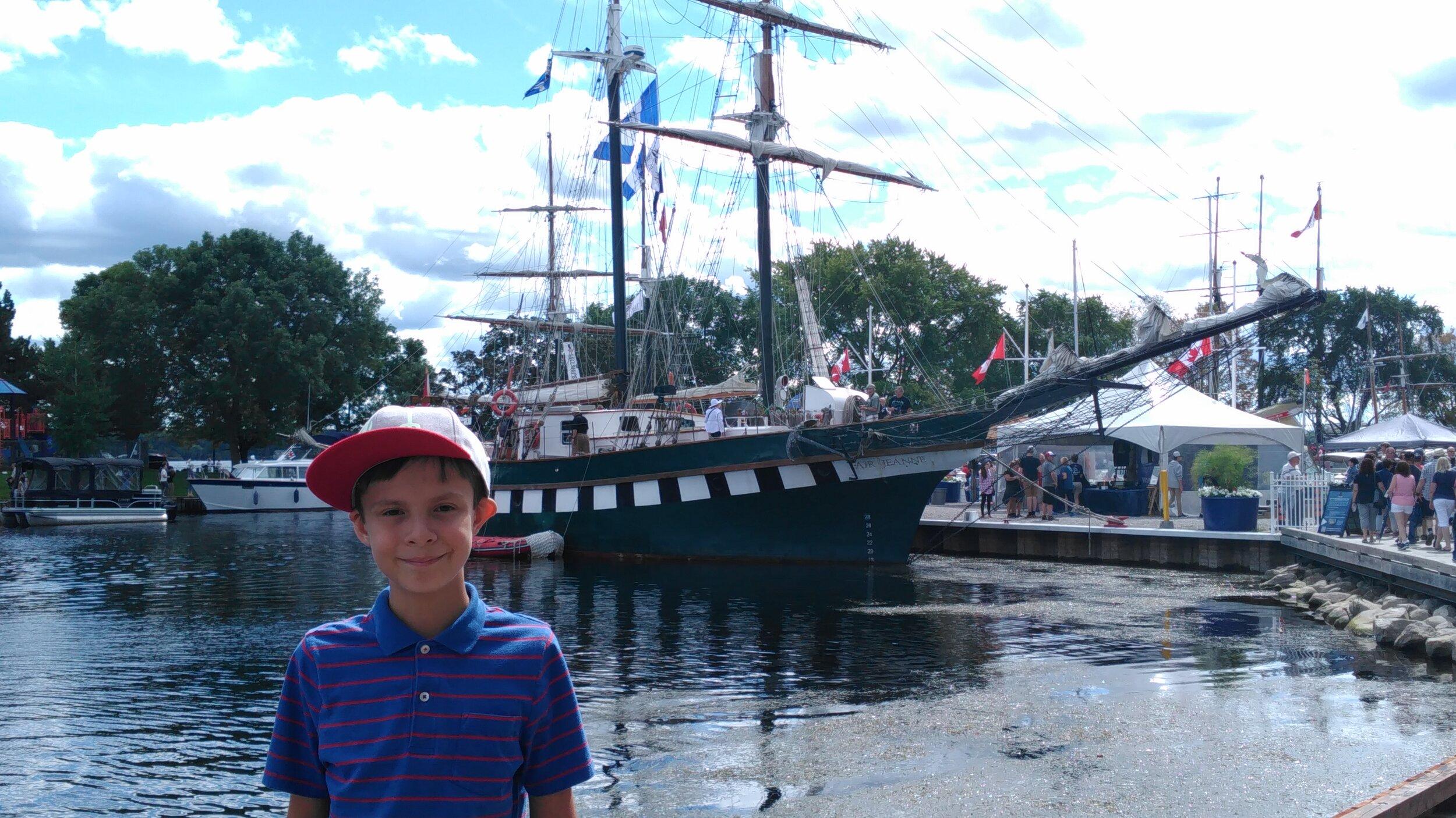 Family Travel: Brockville Tall Ships Festival