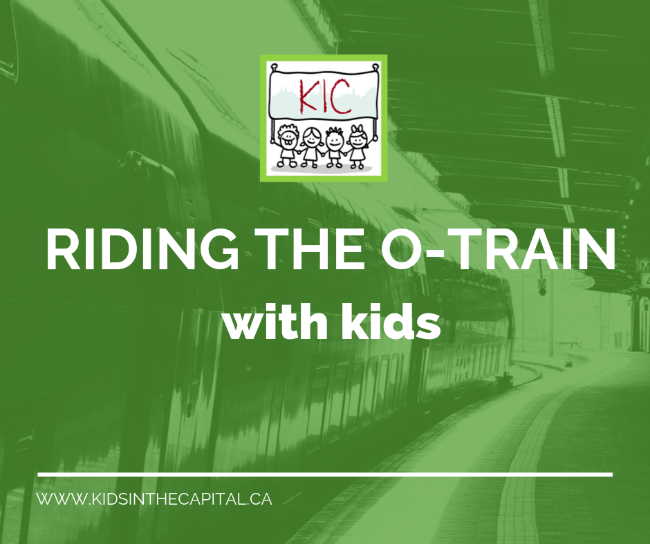 Riding the O-Train with kids