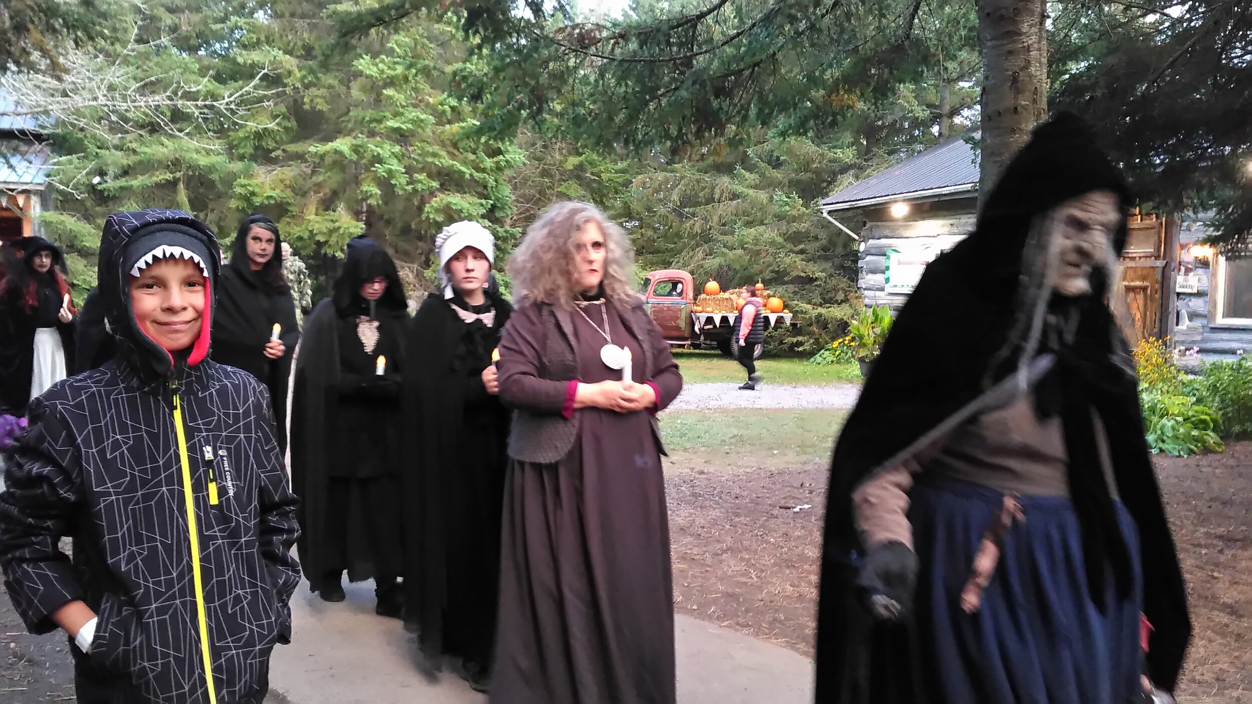Fright Fest Sanders Farm Witches