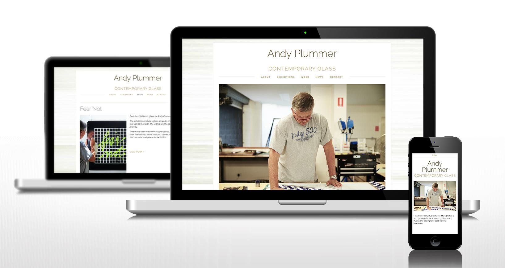 Web site design, domain management, web site build, deploy,content management setup.   www.andyplummer.com.au