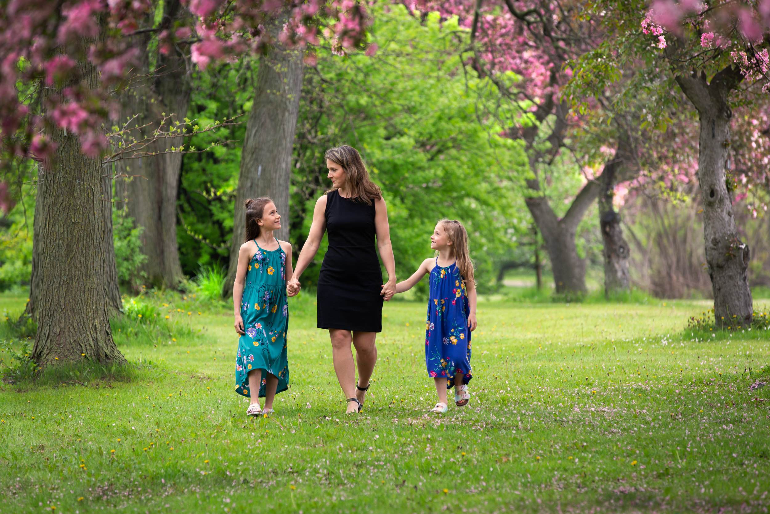 Spring Family Portrait Session