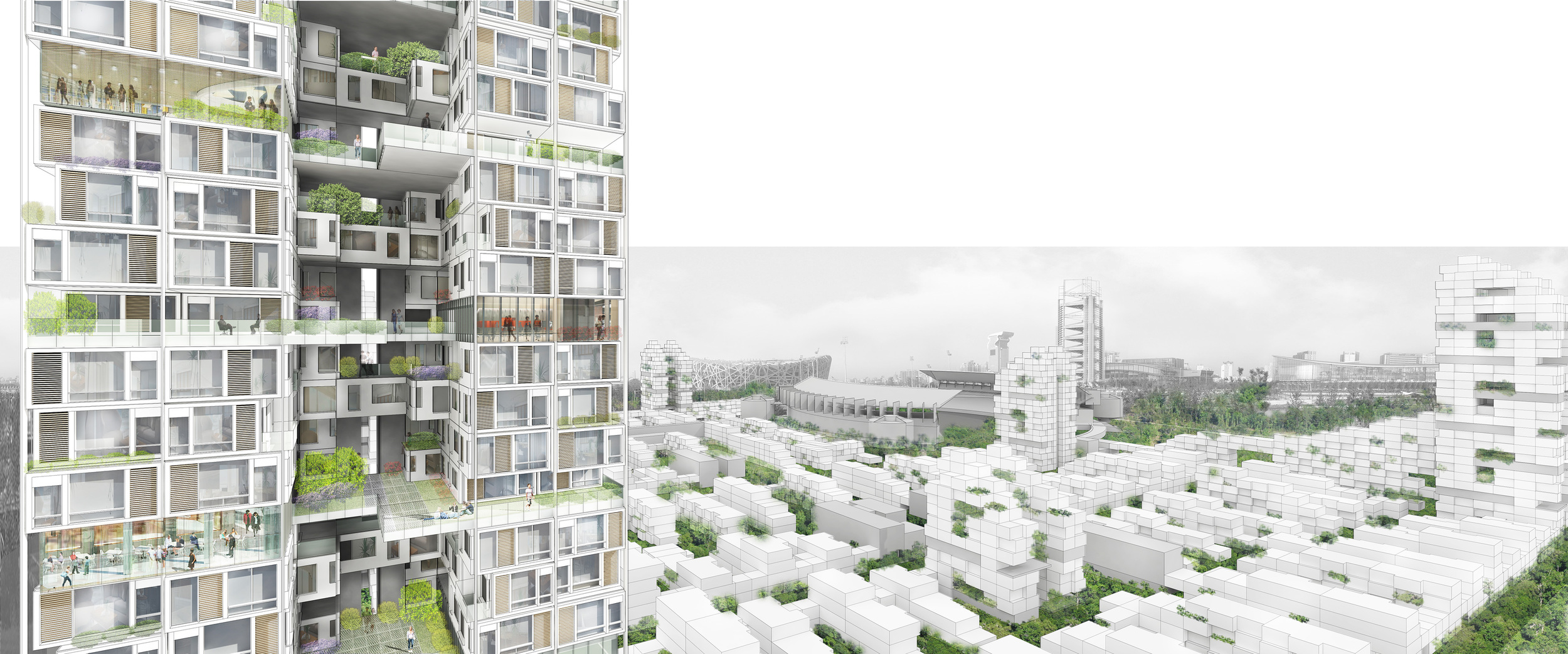 Beijing Olympic Park South Master Plan - Tower Rendering.jpg