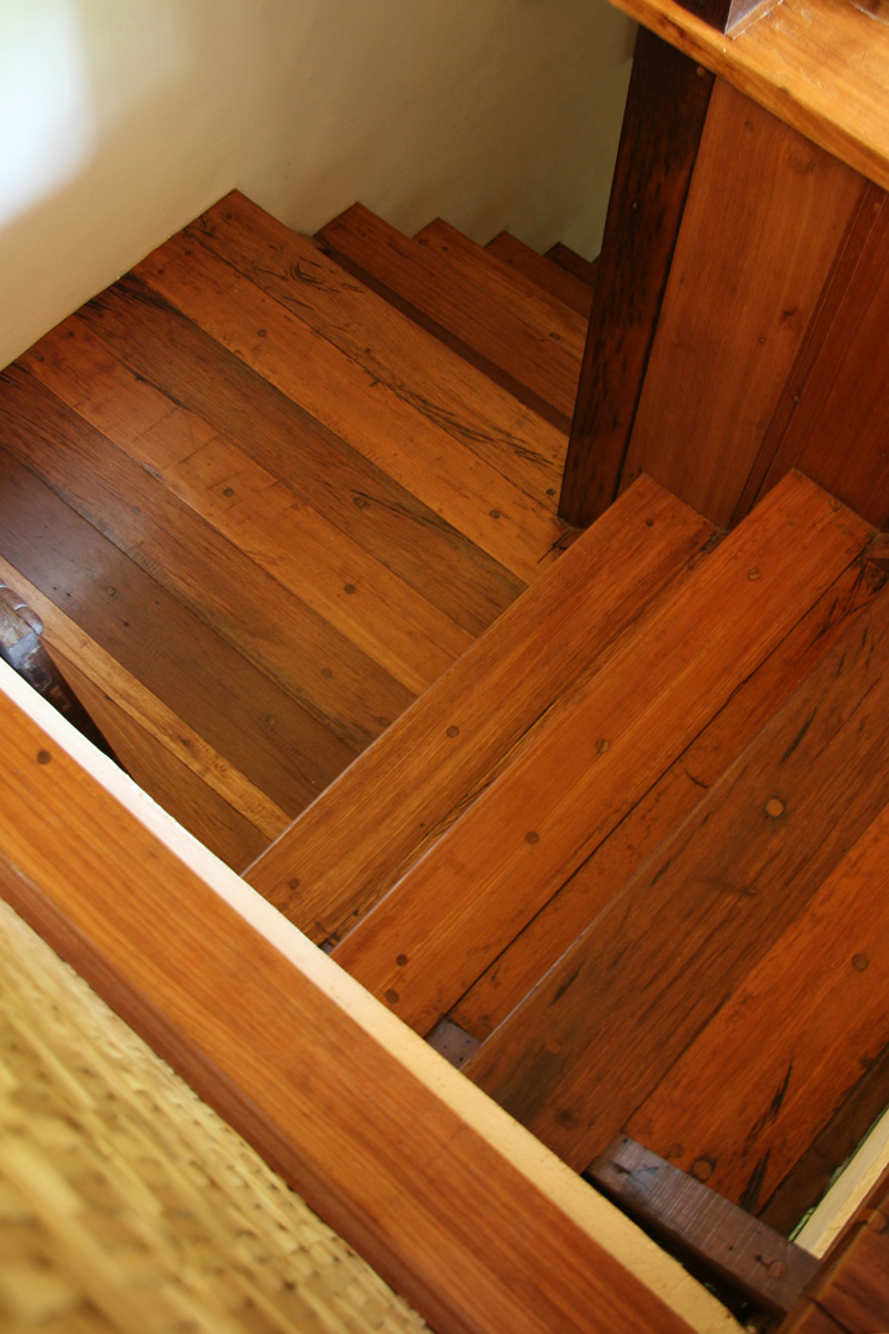 Indonesia Solid Hardwood Reclaimed Ulin Kayu Besi such as the one made by Courtina luxury decking and flooring