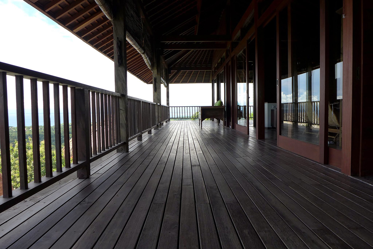 Exterior Decking Indonesia Wood