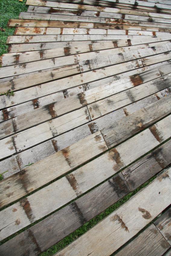 Reclaimed Exterior Wood Hardwood Ulin