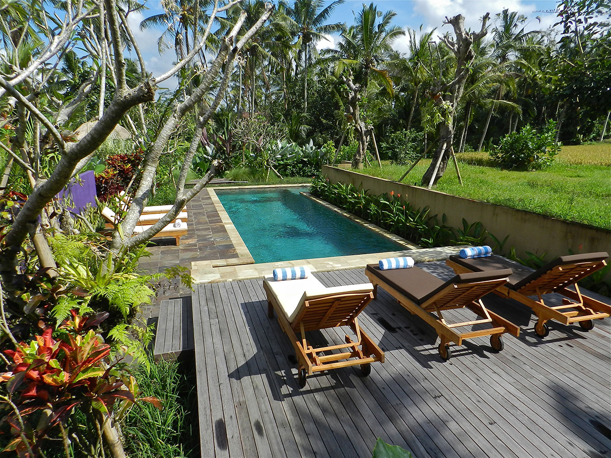 Swimming Pool Deck Installation Reclaimed Hardwood