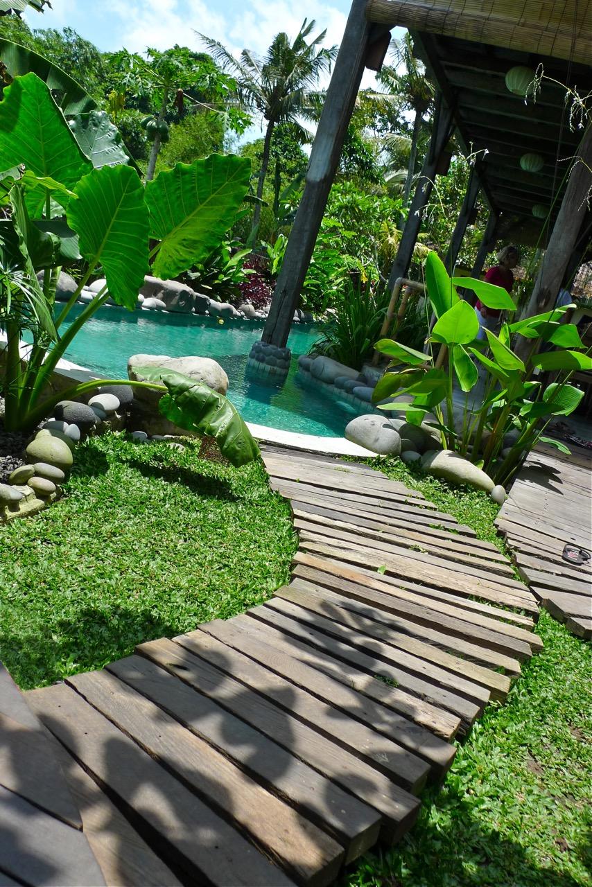 Swimming Pool Decking Kayu Besi Ironwood