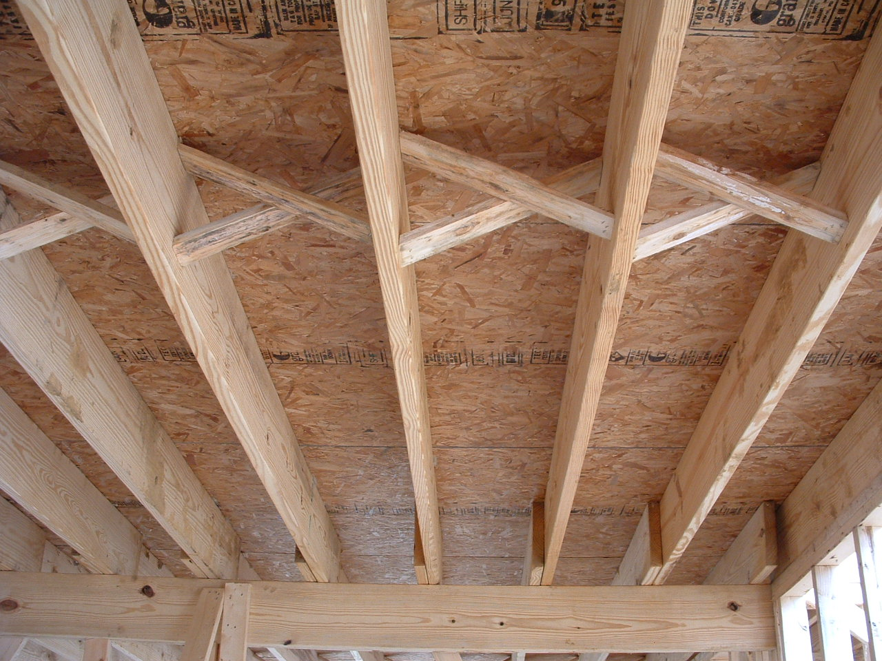 OSB flooring and structure