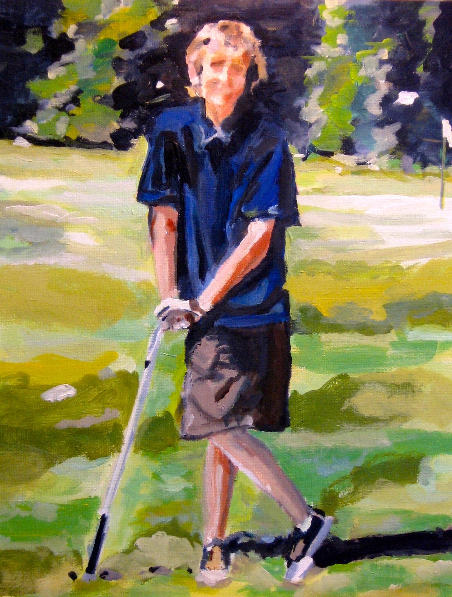 Spring Golfer