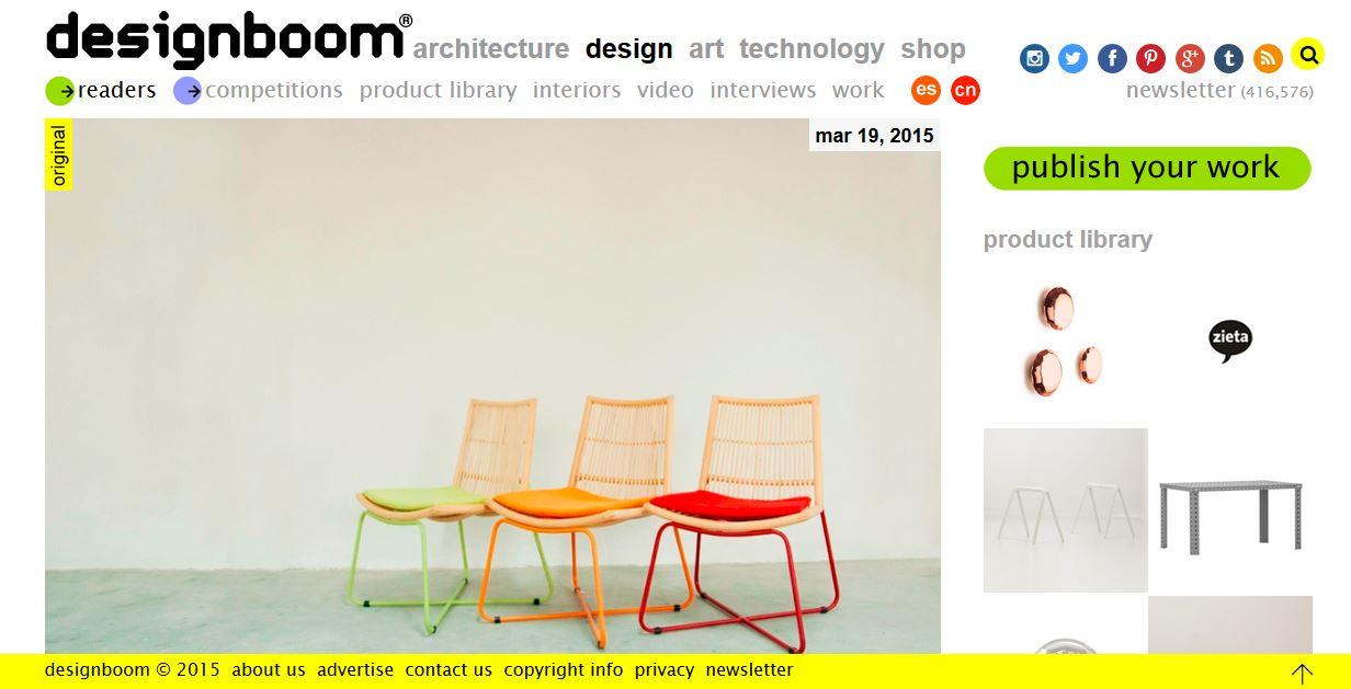 Designboom - 19 March 2015