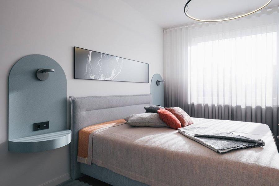 HOOLA - bedroom  Image by  Märt Lillesiim  for  Art of Space