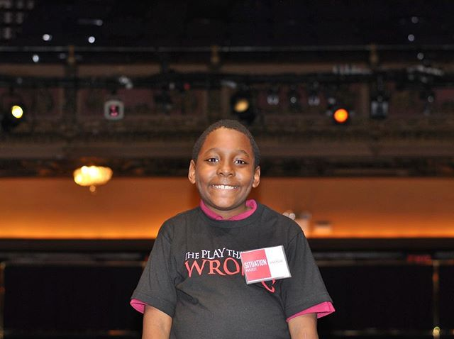 #TBT to standing on the stage at the Lyceum Theatre with @bwaygoeswrong. That smile says it all! ✨#SituationProject #ExperiencesMatter #ThePlayThatGoesWrong #lyceumtheatre