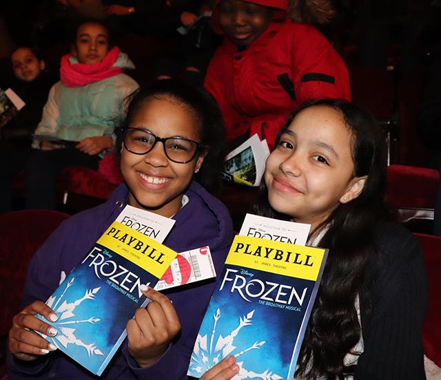Thank you to @FrozenBroadway and the @DisneyonBroadway team for providing a magical experience to our 6th graders last week ✨❄️✨❄️✨❄️. #SituationProject #ExperiencesMatter #Frozen #Broadway #Disney