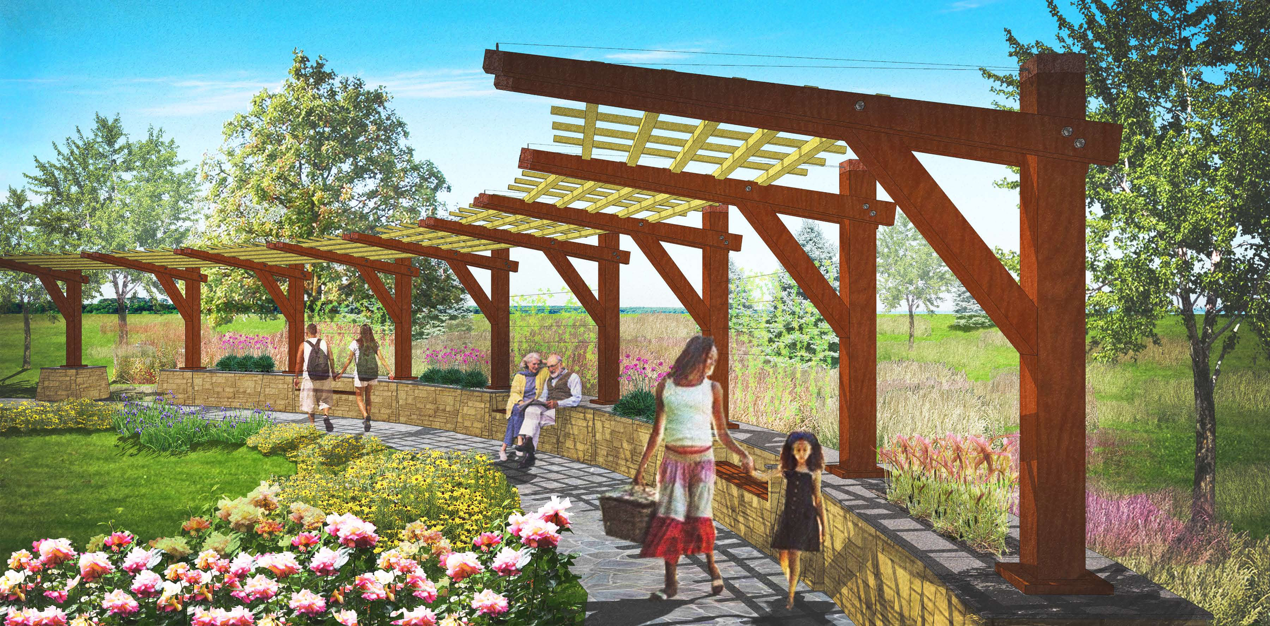 Pergola and Garden Design