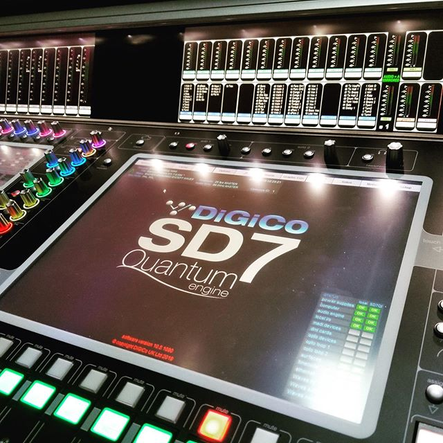 🙌 exciting upgrades from @digico.official !! . The fastest, smartest console ever created, SD7 Quantum delivers the functionality, audio performance and sheer scale required to deliver the largest productions now and in the future. With SD7 Quantum, you have the power to tackle any challenge and truly own the room. . #prosound #proaudio #sd7 #sd7quantum #sd7quantum7 #upgrade #audioengineer #laevents #eventdesign