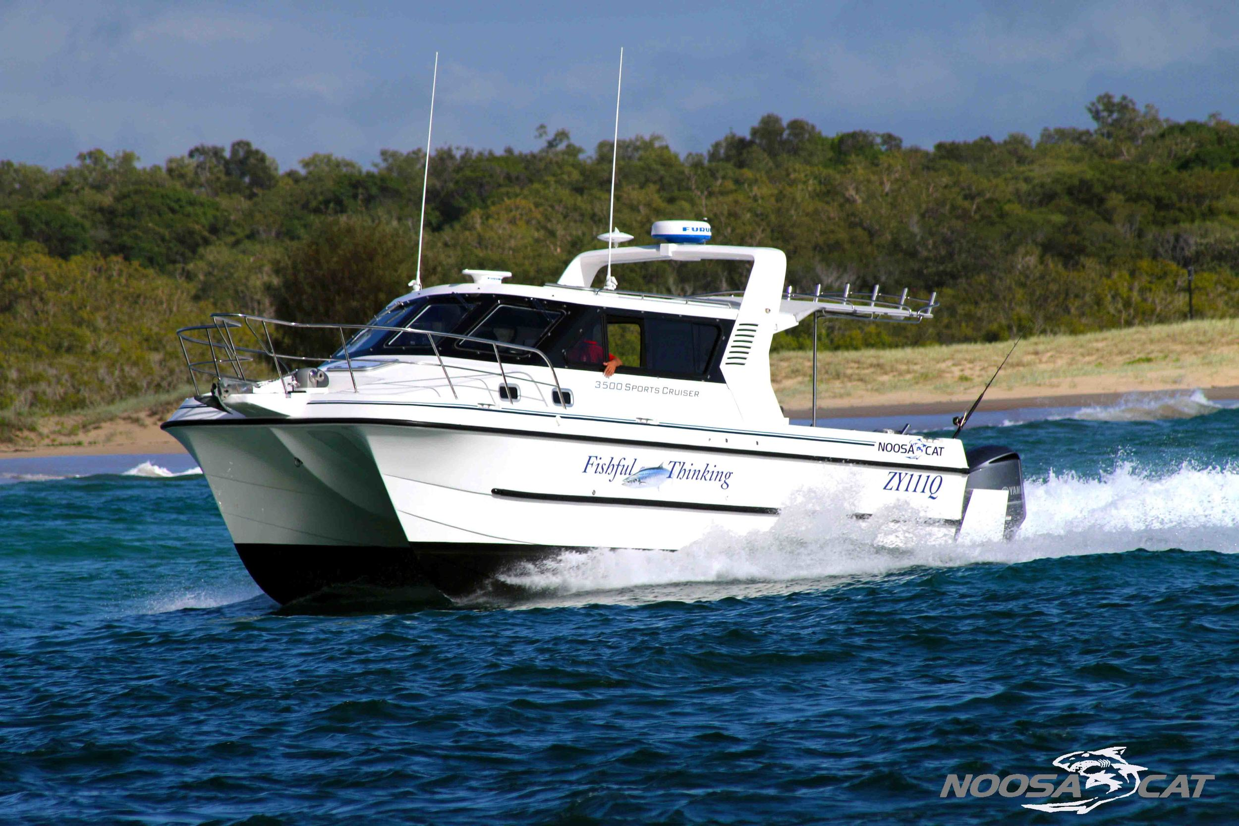 Noosa Cat 3500 Sportscruiser 'Fishful Thinking'.jpg
