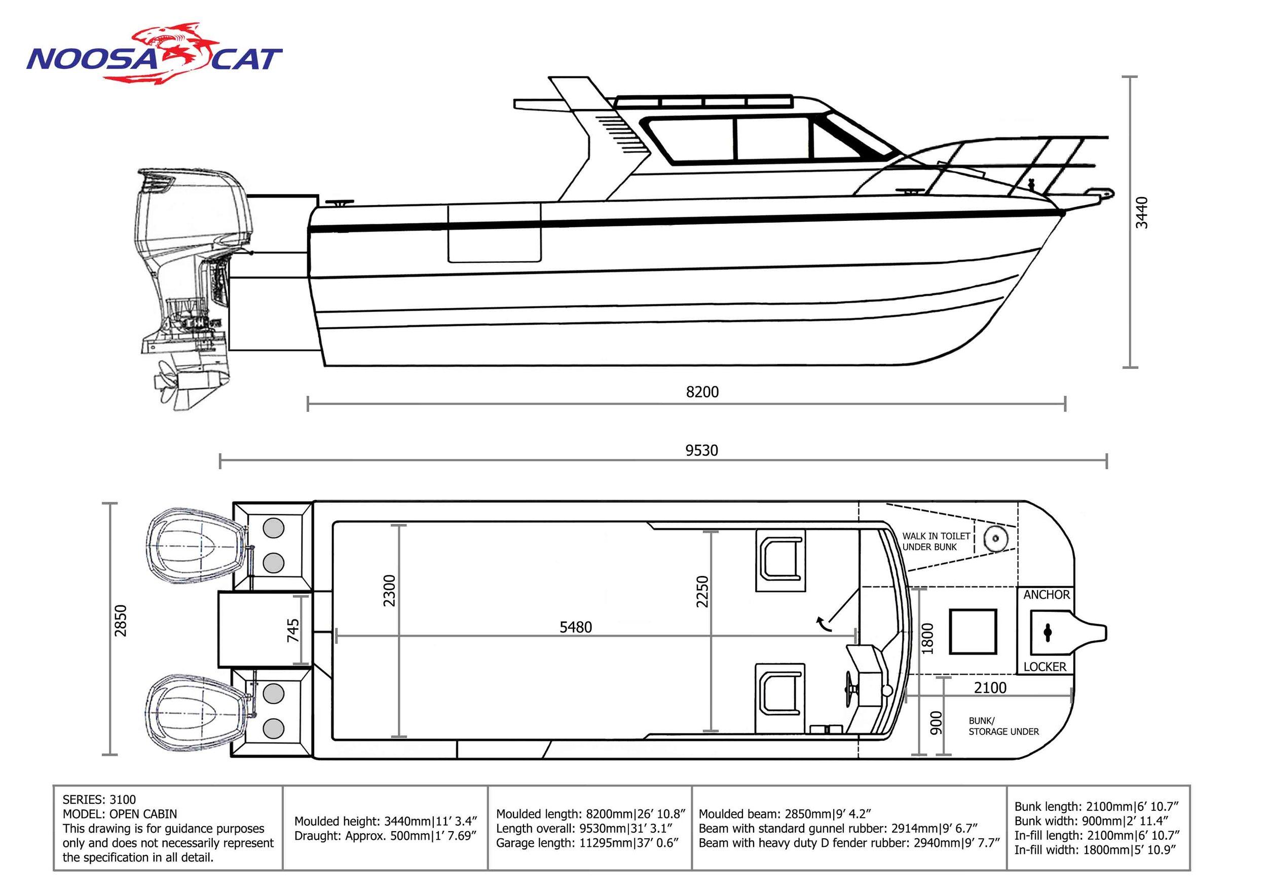 Noosa Cat 3100 Pacific Open Cabin.jpg