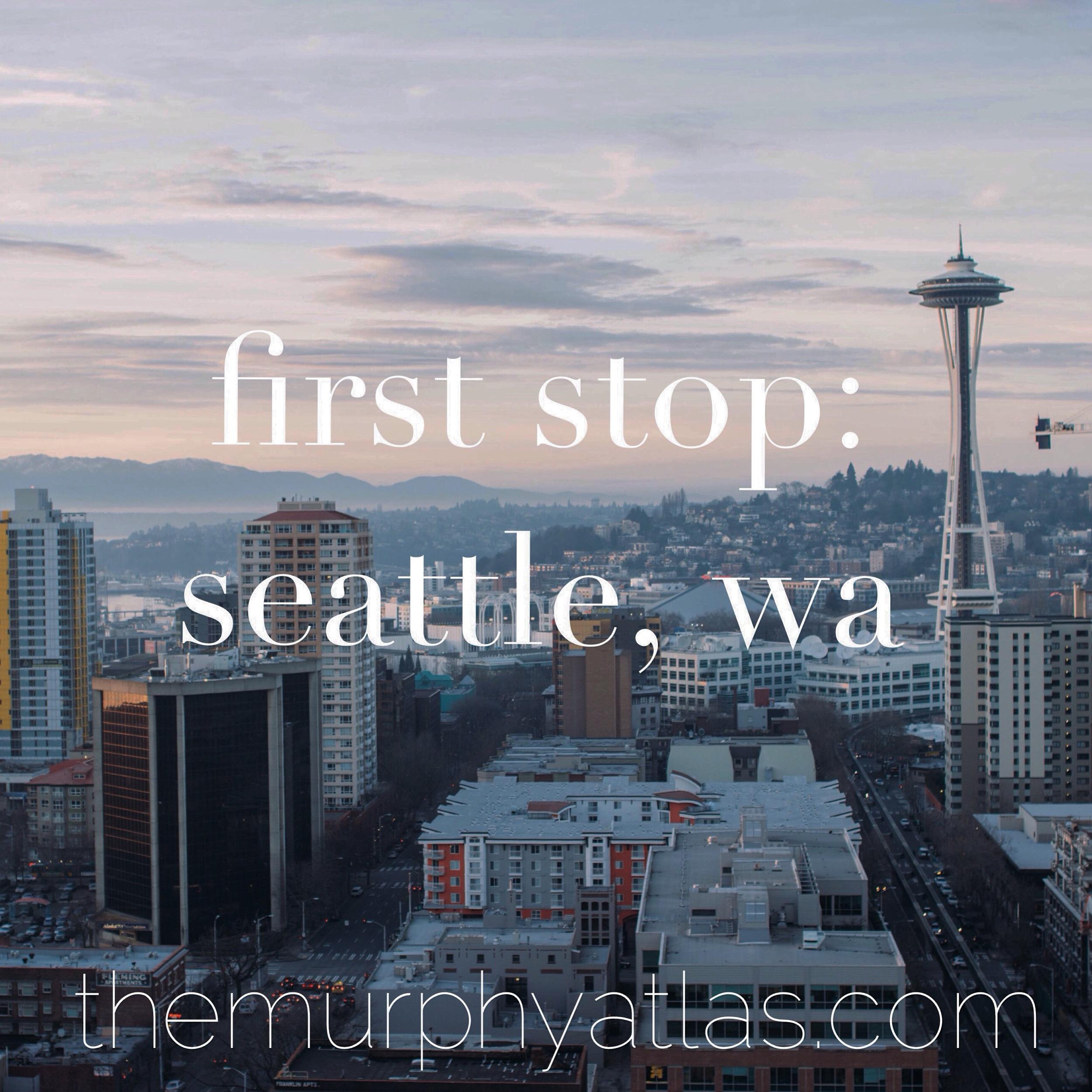 48 Hours in Seattle - The Murphy Atlas