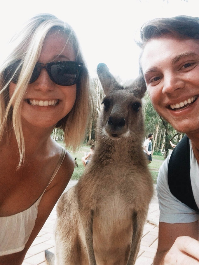 Kangaroo Selfie - The Murphy Atlas