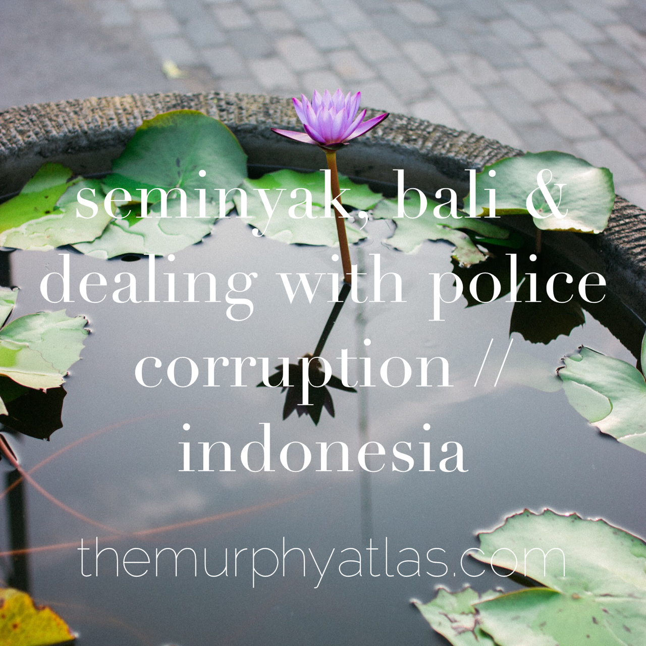 Seminyak City Guide and Bali Corruption