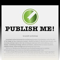 Click Above to listen to the PUBLISH ME! podcast.