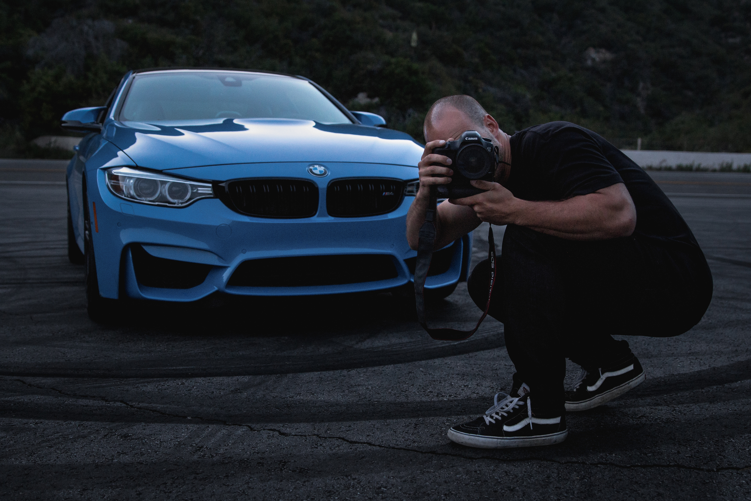 Sam on assignment for BMWUSA.