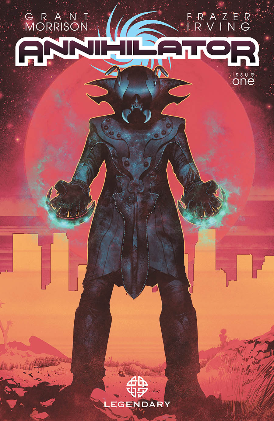 ANNIHILATOR is Grant Morrison's most coherent work in years. Frazier Irving's lush art also dazzles here.