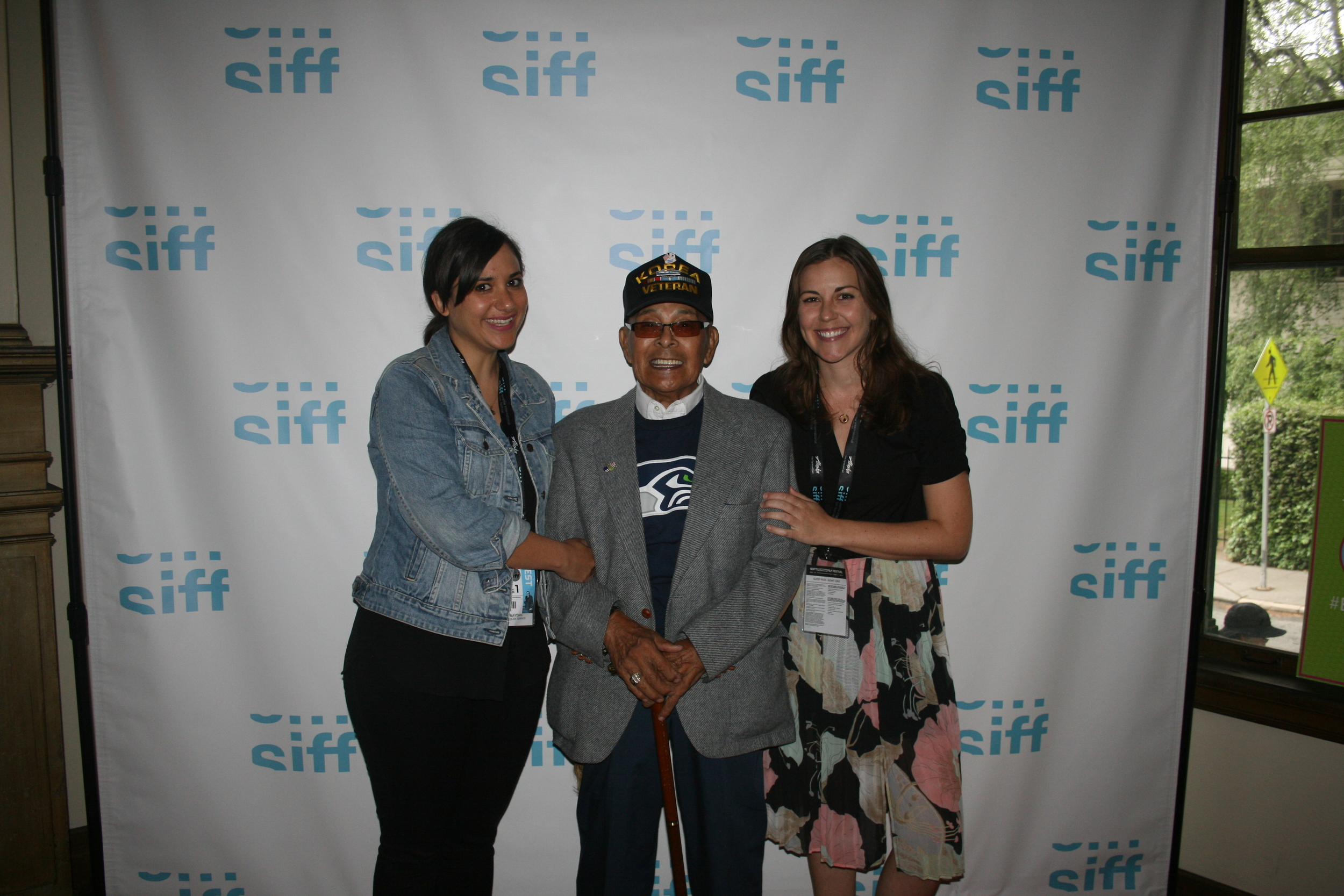Marty Reyes at SIFF