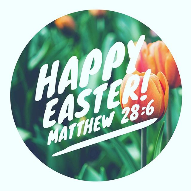Happy Easter! We are grateful for our King Jesus who makes all things right. 💙
