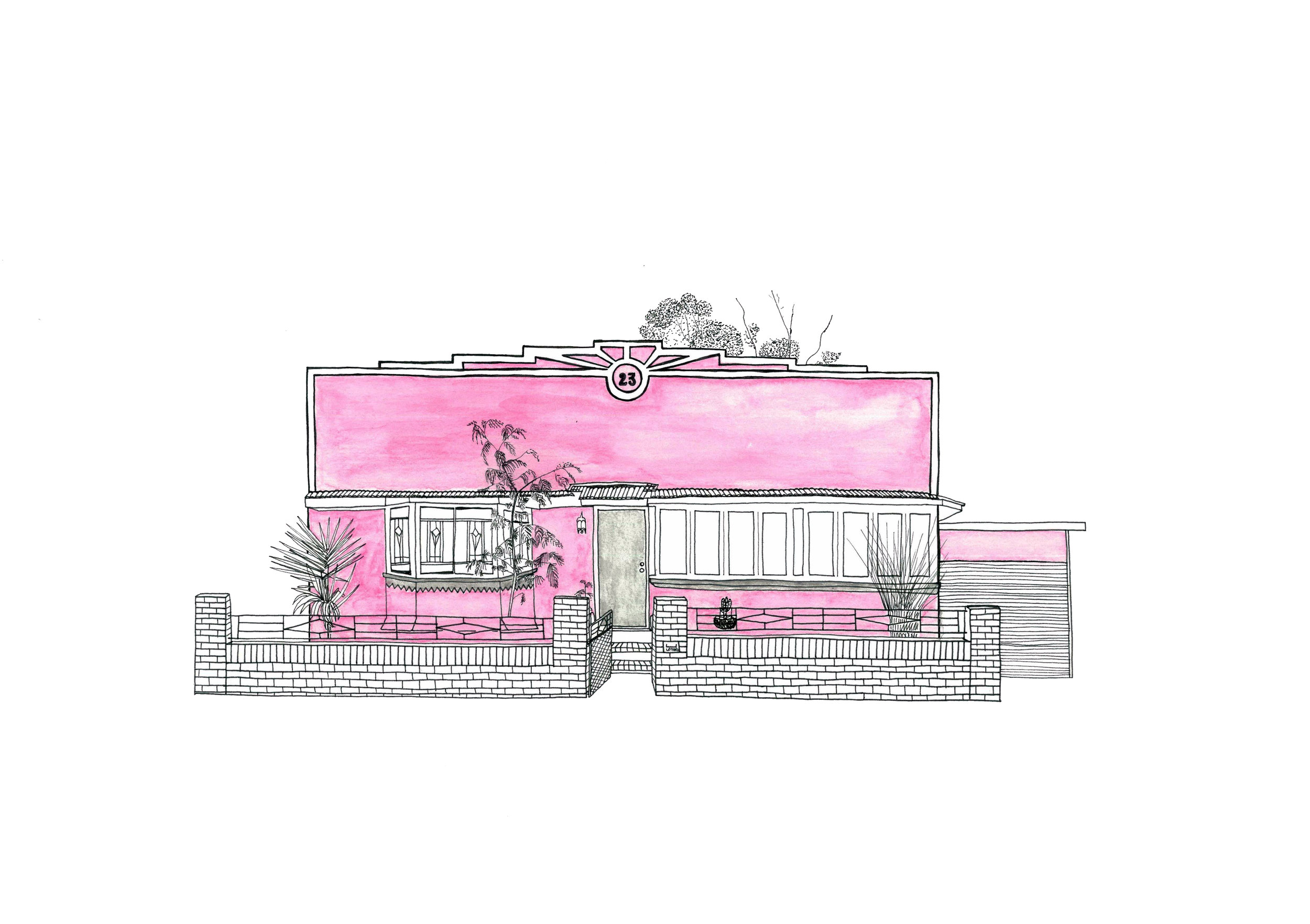 #7 Pink House
