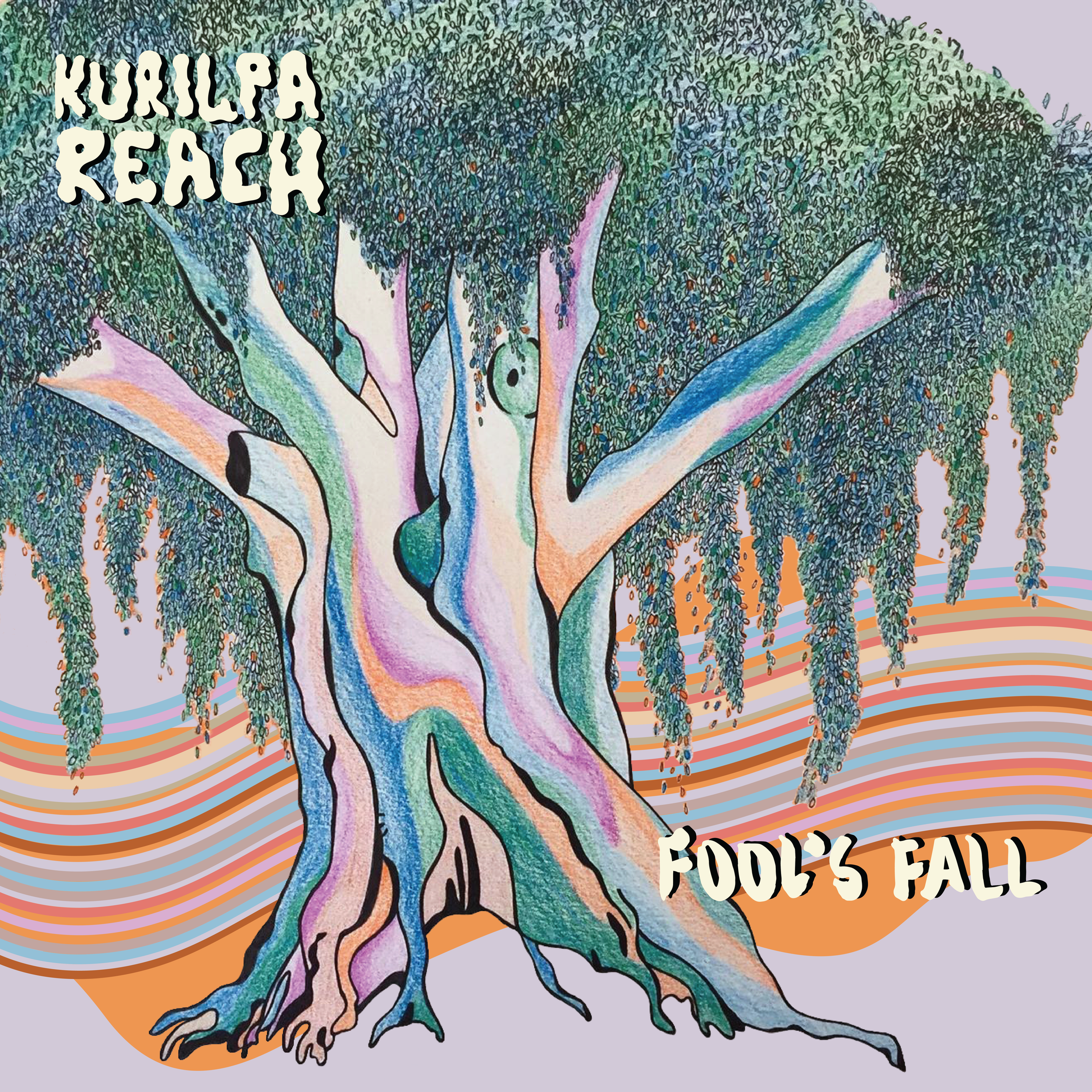 EP Cover Art and Merchandise Design for local Brisbane Band, Kurilpa Reach.