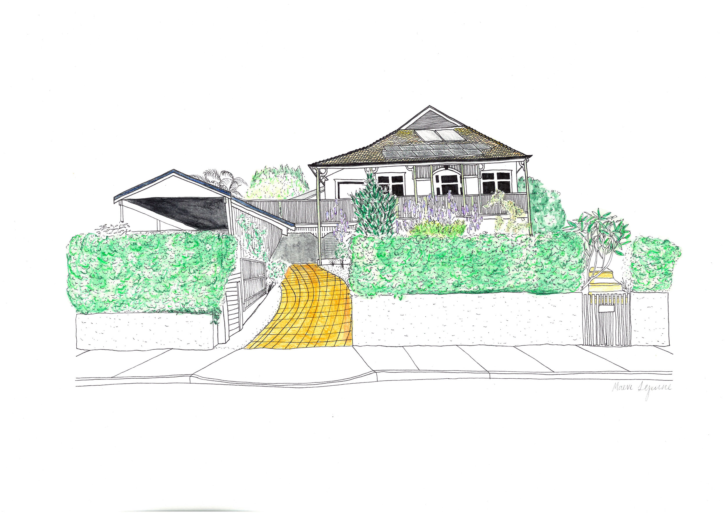 #17 Sabine's House